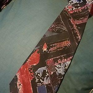First Avenue Abstract necktie